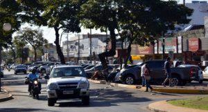 Comércio de Ponta Porã esboçou reação neste ano com a manutenção do dólar alto - Foto Paulo Ribas Correio do Estado