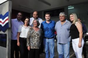 Eva Moraes agradece homenagem a familia - Foto Lile Correa